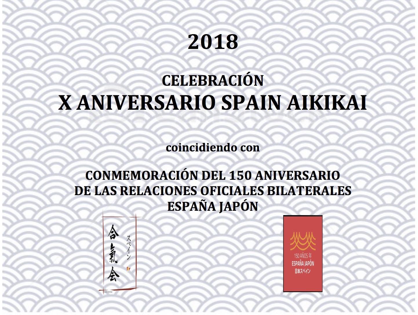 X Aniversario Spain Aikikai